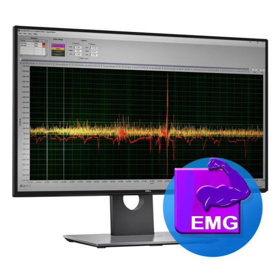 emg software screen