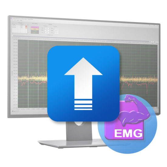 emg software screen upgrade