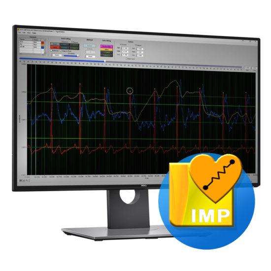IMP software screen